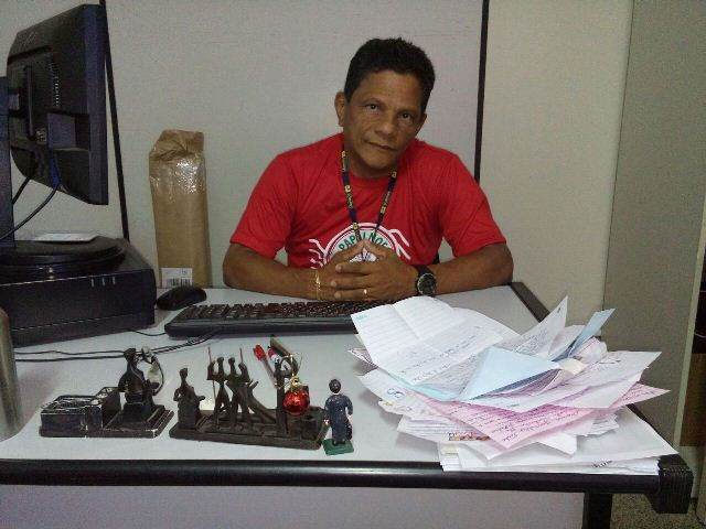 Paulo Baia, coordenador regional da campanha: projeto cresce a cada ano