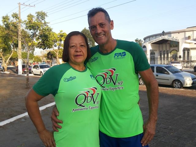 Ilde Ferreira e o esposo
