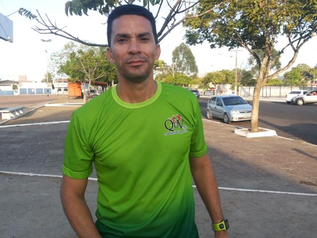 Empresário e preparador físico, Lenon Augusto