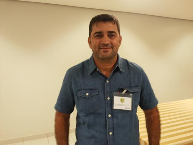 prefeito eleito de Laranjal do Jari, Márcio Cley da Costa Serrão (PRB): transição no município já começou