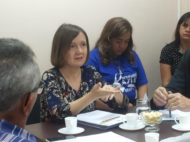 Presidente da Comissão Especial dos Ex-Territórios, Neleide Abila. Fotos: Cássia Lima
