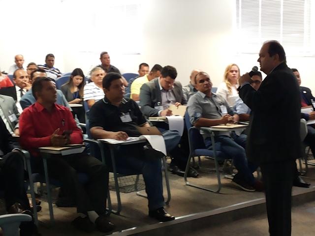 Todos os gestores eleitos participaram do encontro. Fotos: Cássia Lima