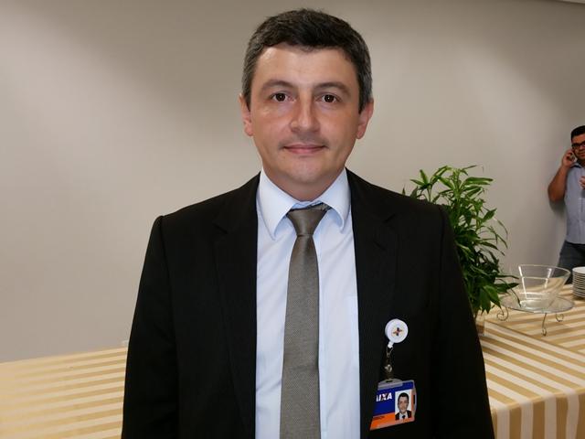 Superintendente regional da Caixa Econômica no Amapá, Ederson Negri: