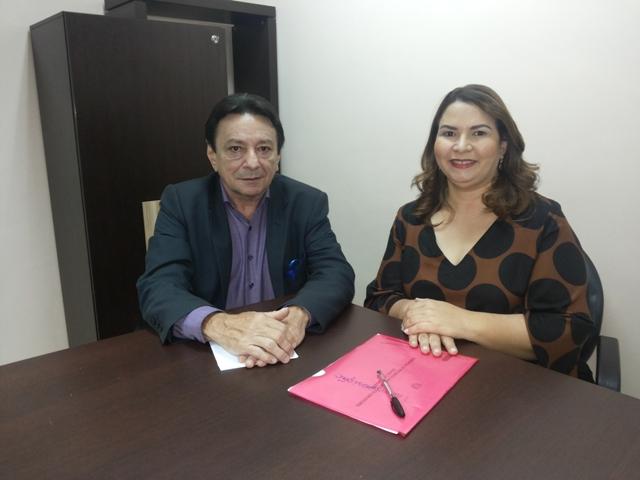 Vice-governador, Papaléo Paes e a secretária de Administração participaram do encontro