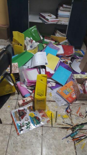 Insegurança toma conta da escola, invadida pela 6ª vez. Fotos: Valdeí Balieiro
