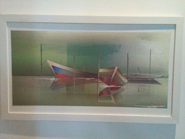 Objeto de pintura é a regionalidade amapaense com um toque tecnológico