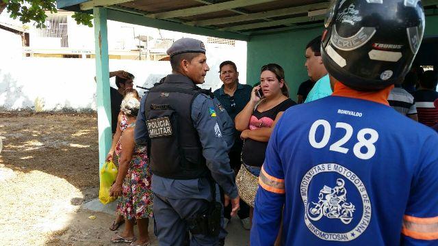 Luan não resistiu a ferimento com arma branca usada por menor infratos. Fotos: Fernando Santos