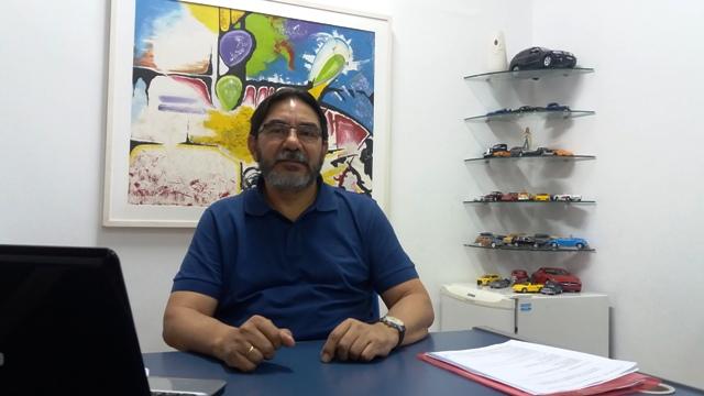 Odir Cantuária, vice-presidente da Agenciauto: funcionários públicos endividados. Foto: André Silva