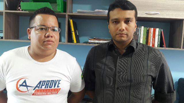 Rodrigo e Rarison: confusão causada pela incoerência de um pai. Foto: Seles Nafes