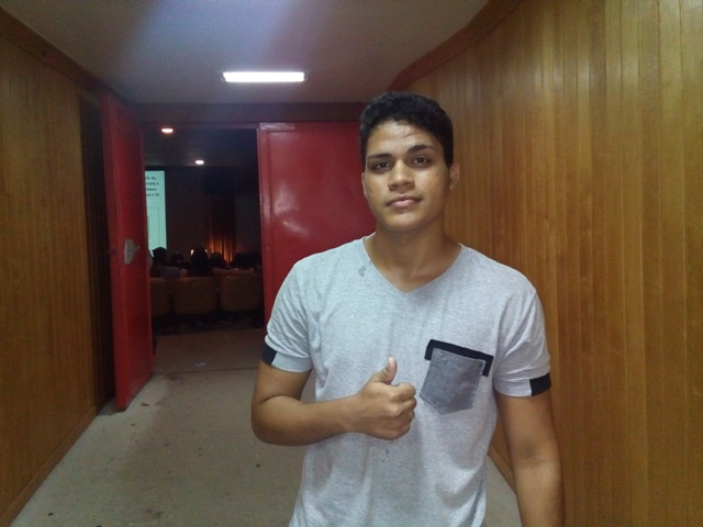 Augusto Cesar, de 18 anos.