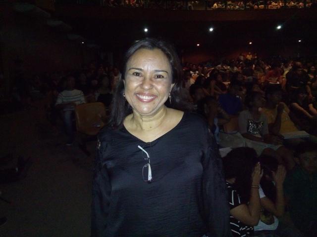 Sara Ribeiro, do Núcleo de Ensino Médio da Seed. Projeto deu certo