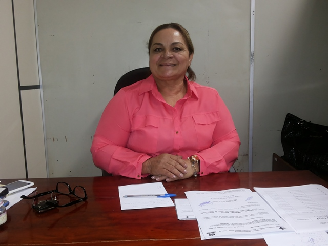 Coordenadora do Núcleo, defensora Lúcia Andrade. Foto: Cássia Lima