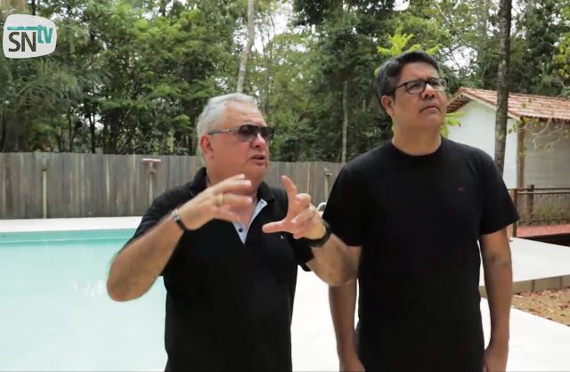 CEO do Hotel de Selva Flor da Amazônia, Marciliano Amaral: ecoturismo