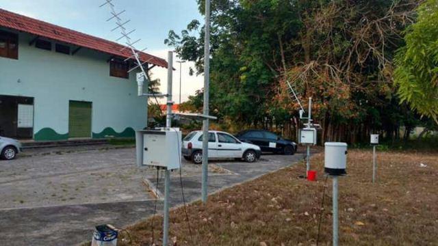 Iepa está fazendo substituição de estações no interior do estado. Fotos: Iepa
