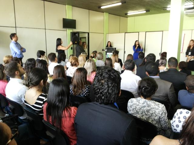 Cerimônia de inauguração do núcleo. Fotos: Cássia Lima