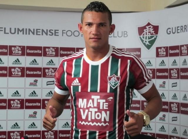 Lucas jogou pelo Fluminense em 2015. Foto: F