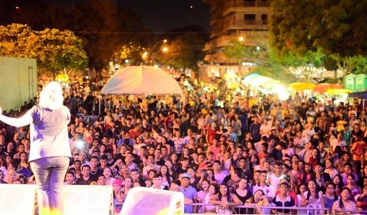 Shows começarão às 18h30min, na Praça do Barão