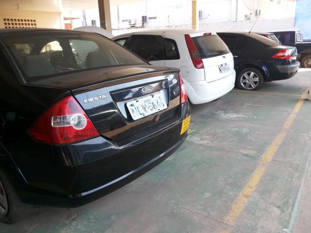 Veículos que não estão sendo usados pela Amprev e que foram leiloados. Fotos: Cássia Lima