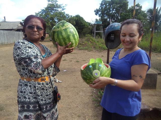 Prefeita Maria Orlanda (esquerda) participa ativamente da realização do evento. Fotos: Humberto Baia