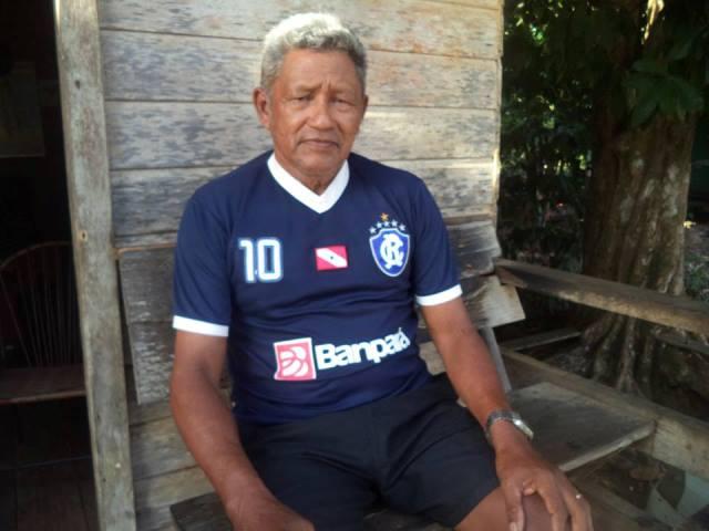 Sebastião Pinheiro, presidente da Associação de Moradores