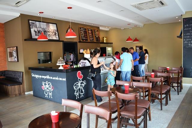 Estabelecimento do Santa Rita é o único que vende o gelato