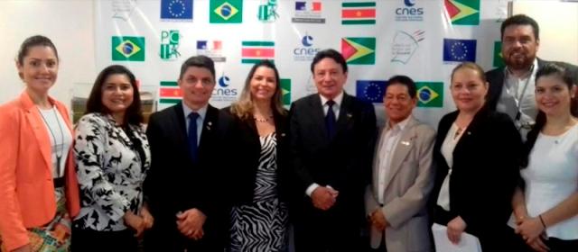 Vice-governador, Papaléo Paes, participou do lançamento do programa e das reuniões de cooperação com grupos da Guiana Francesa