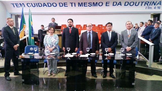 TRE-AP realizou cerimônia de diplomação no templo central da Assembleia de Deus. Fotos: Fernando Santos