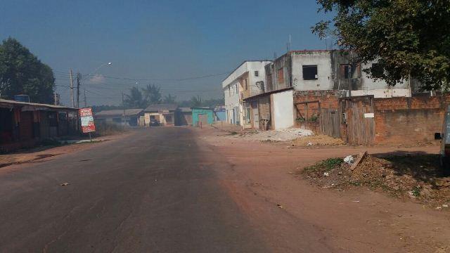 Fumaça se espalhou por bairros próximos do Pantanal