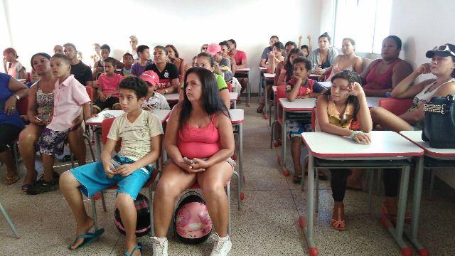 Encontro com pais e alunos deu início ao projeto. Fotos: Fernando Santos