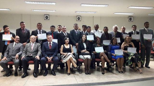 Cerimônia foi realizada no fórum de Oiapoque. Fotos: Humberto Baia