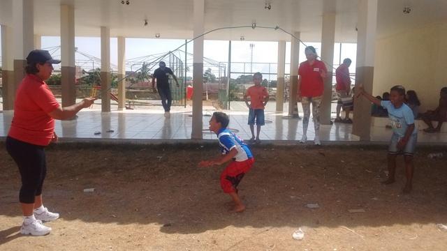 Crianças participando das atividades do programa. Fotos: Ascom PMM