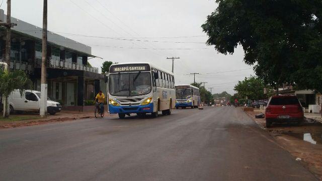 Trecho já construído da nova Avenida Princesa Izabel já é utilizado pelos ônibus. Fotos: Fernando Santos