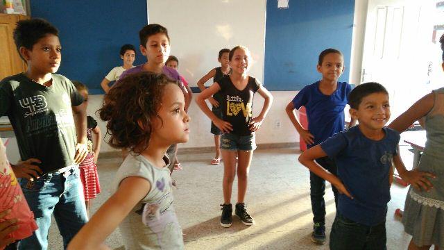 Oferecer atividades para que crianças do município tenham alternativa de lazer é objetivo do projeto