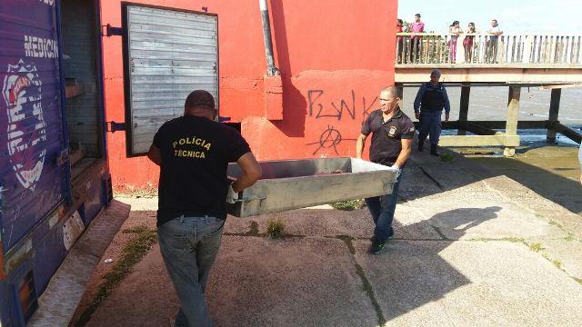 Menino foi reconhecido como morador de rua por funcionários e pela dona de um dos quiosques da Beira-Rio