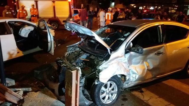 Versa teria sido o causador do acidente, mas um inquérito ainda definirá as responsabilidades