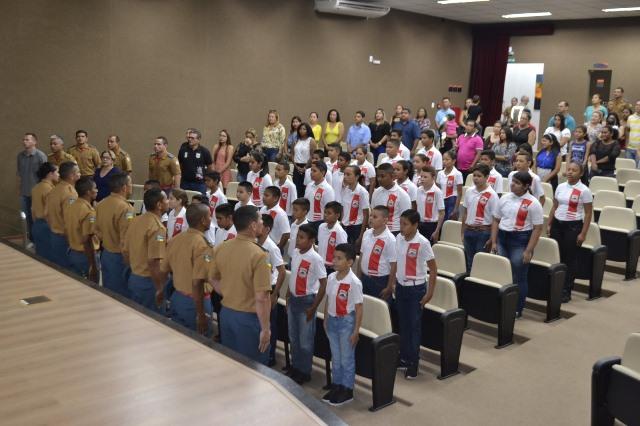 Adolescentes foram formados depois de 7 meses de trabalho. Fotos: Dicom/CBM-AP