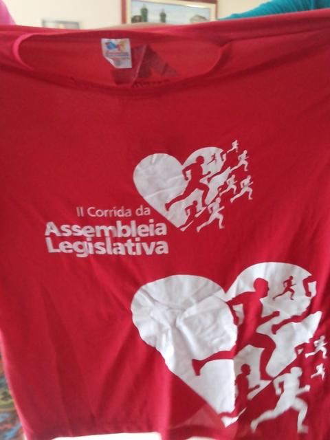 Camisa que será usada pelos competidores. Fotos; Cássia Lima