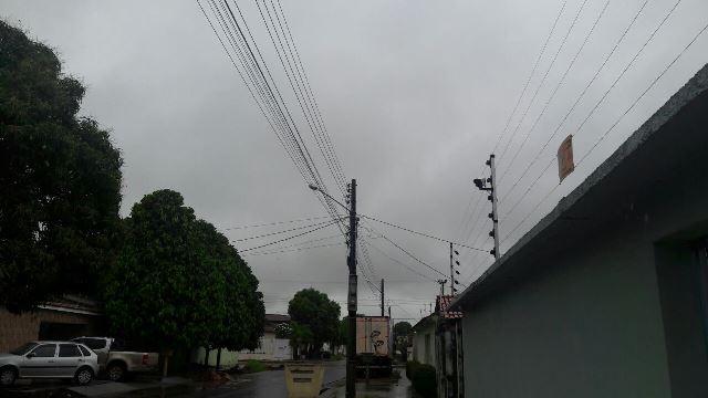 Chuvas superaram 90 milímetros até às 11h da manhã