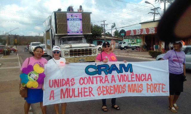 Cram e Camuf organizaram a Marcha das Josys. Fotos: Fernando Santos