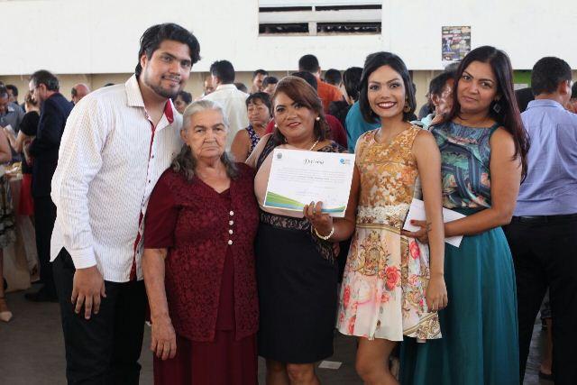 Filha primogênita, Socorro Nogueira, tomará posse como vereadora em 2017