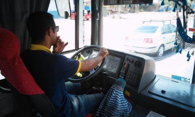 Paulo Guedes, motorista de ônibus: acidentes costumam aumentar em até uma hora jornada de trabalho