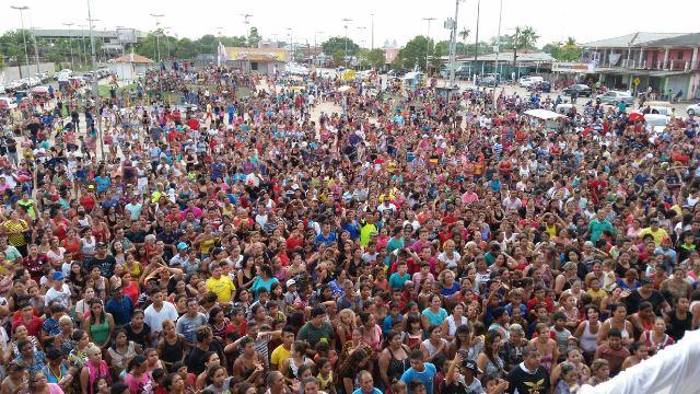 Evento atraiu multidão. Fotos: Fernando Santos