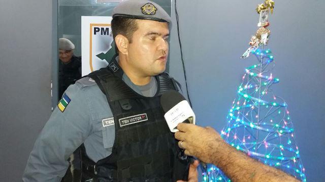 """Tenente Vitor: """"a gente faz o máximo"""""""