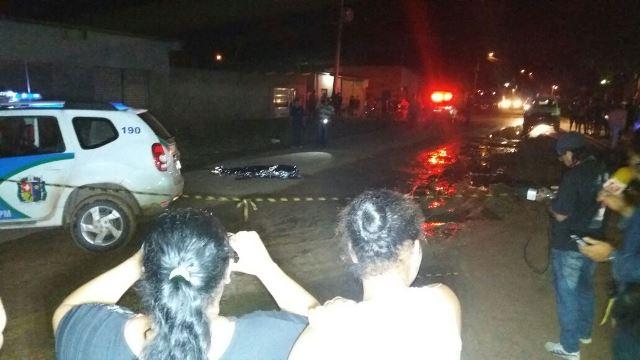 Crime ocorreu no Bairro Brasil Novo, por volta das 21h