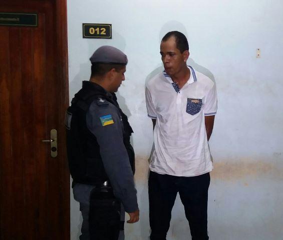 Acusado conversa com policial do BRPM após prisão: explicações sobre homicídio