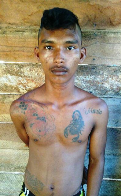 """""""Chavinho"""": vida de bandido desde a adolescência. Foto: Arquivo policial"""