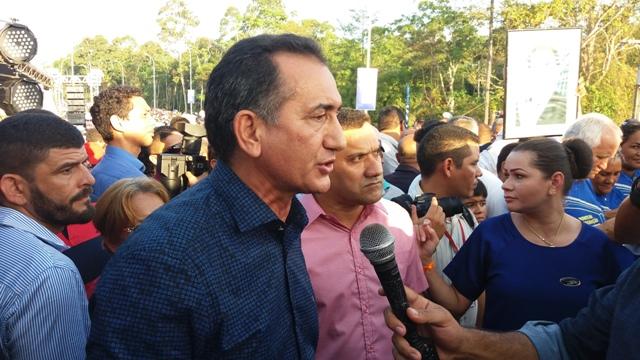 Governador Waldez Góes: