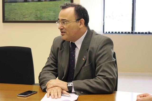 Waldeir Garcia, diretor de Administração do Sebrae: momento econômico desfavorável. Foto: Sebrae