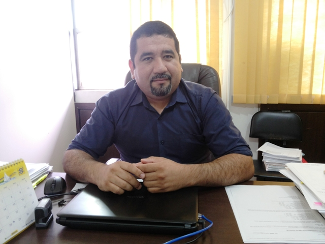 Diego Campos, representante da Sesa; AP Turismo quebrou protocolo. Fotos: Cássia Lima