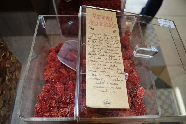 Morangos desidratados: deliciosos